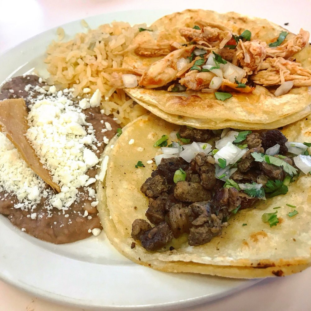 Food from Jessy's Taqueria