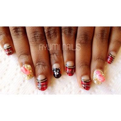 Naples Nail Art Nail Design Ayumi Nails Japanese Gel Nails Nail