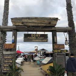 Photo Of Dory Fishing Fleet Market Newport Beach Ca United States