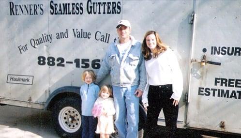 Renner's Seamless Gutters: 2504 Highland View Ln, Burnsville, MN