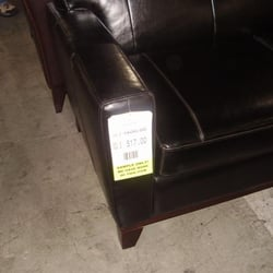Photo Of Zocalo Furniture Warehouse   San Francisco, CA, United States.  Leather Couch