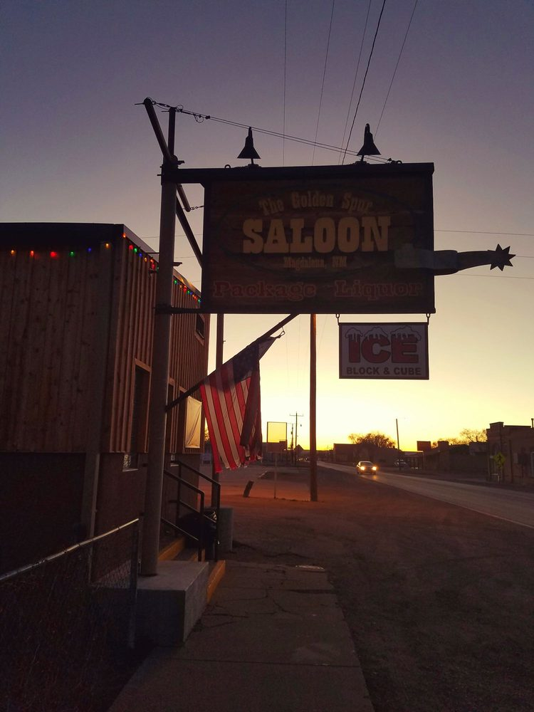 Golden Spur Saloon: 505 1st Ave, Magdalena, NM