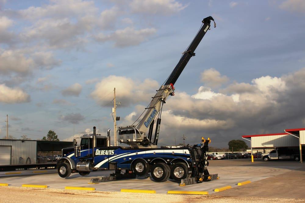 Gilbeaux's Towing: 16527 Hwy 62 S, Orange, TX
