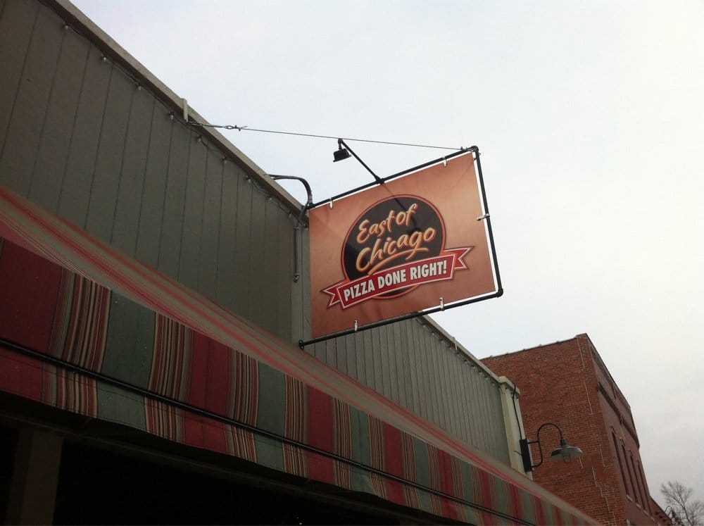East of Chicago Pizza: 111 E 1st St, Warren, IN