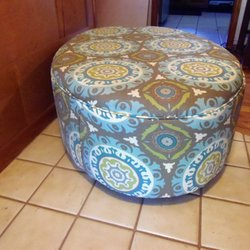 Photo Of Johnny Young Upholstery   Kansas City, MO, United States. Oval  Ottoman