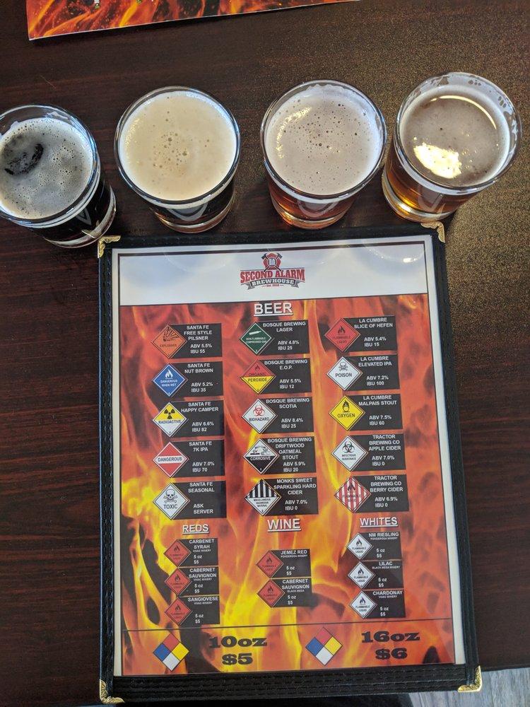 Monica's Firehouse Grill: 17691 Highway 4, Jemez Springs, NM