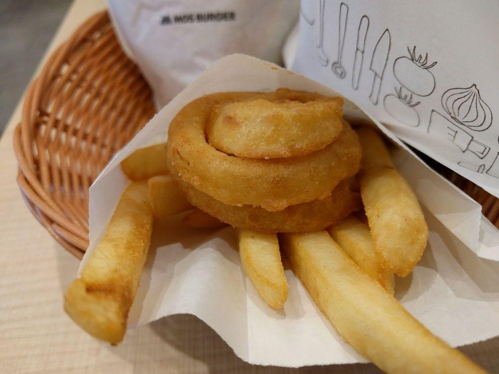 Mos Burger Kyoto Nijo Ekimae