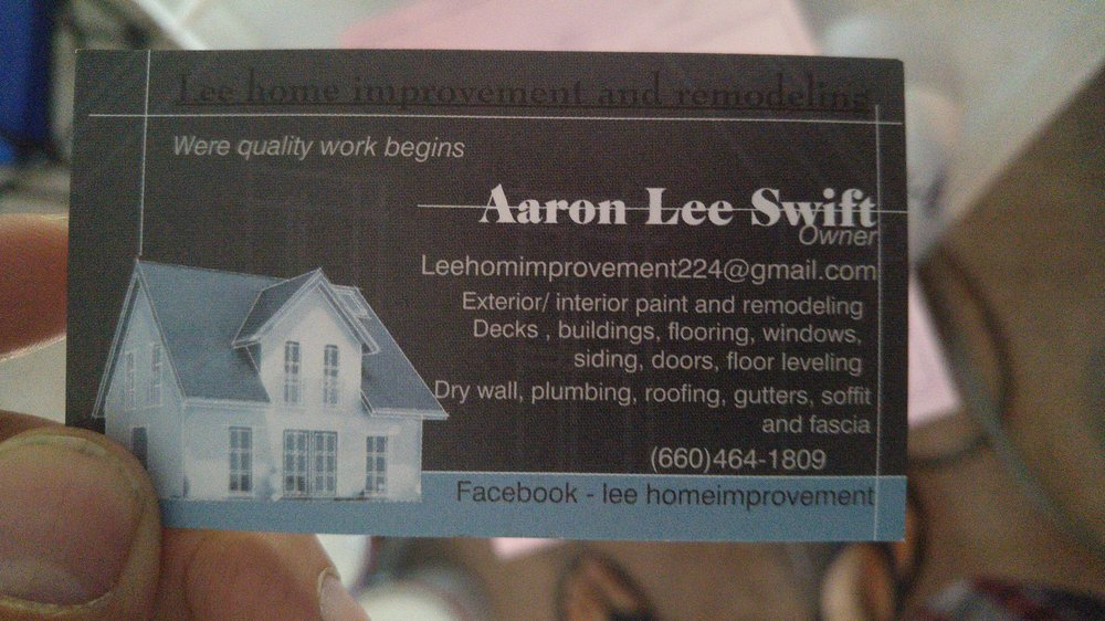Lee's Home Improvement: Archie, MO