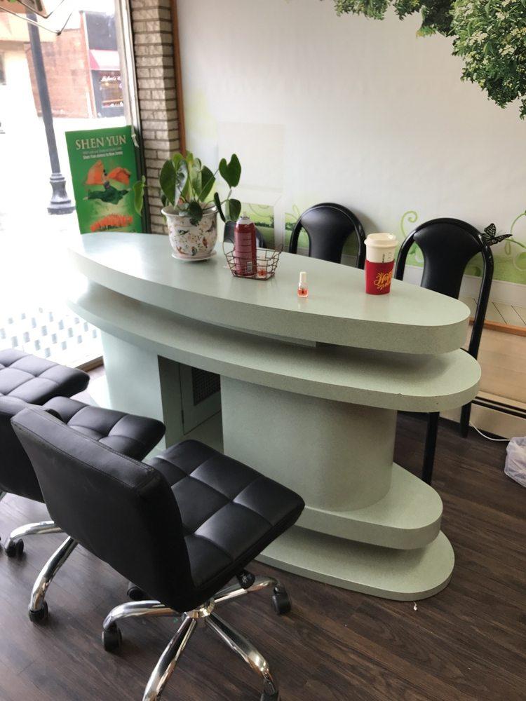 Nail drying station - Yelp