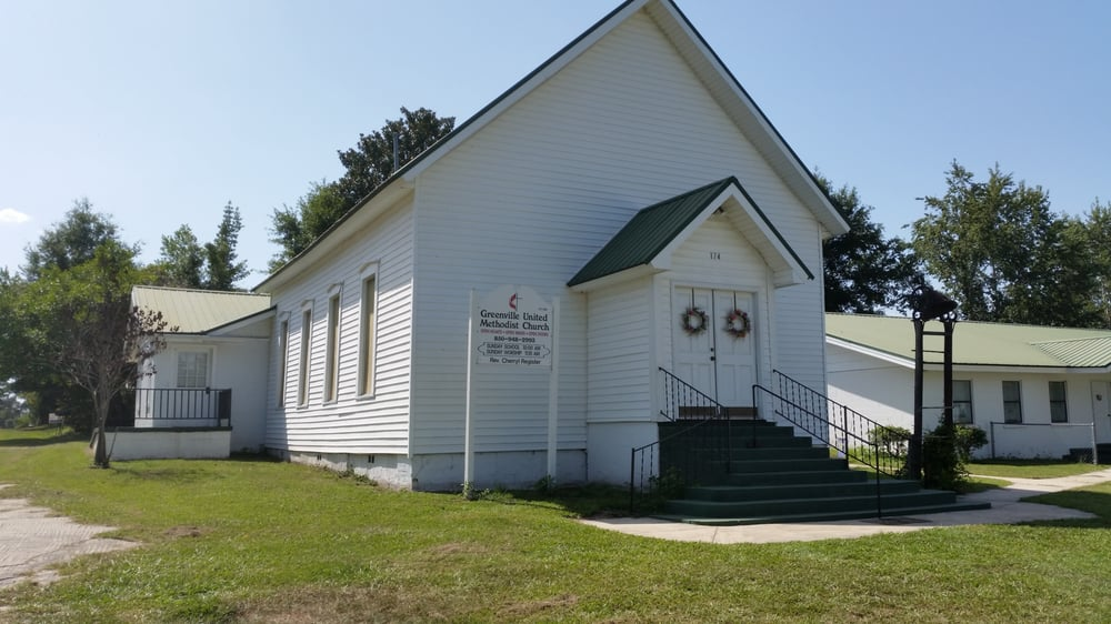 Greenville United Methodist Church: 174 SW Church Ave, Greenville, FL