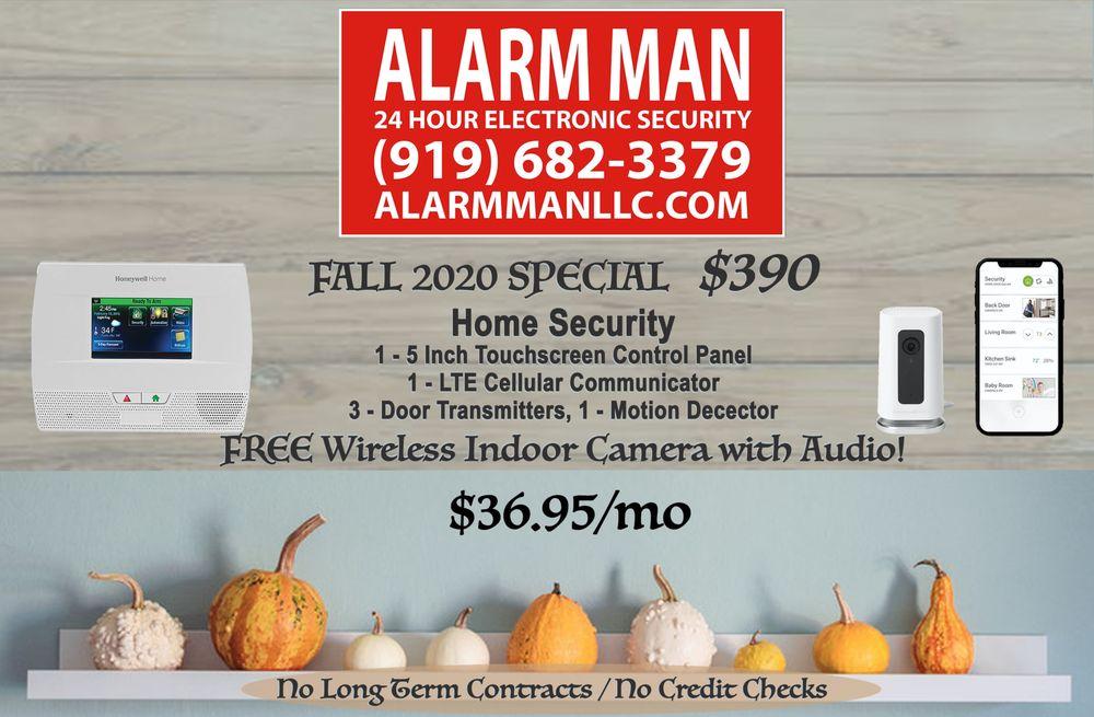 The Alarm Man: 5109 Sky Ln Dr, Durham, NC