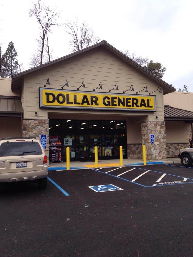 Dollar General Store: 951 S Auburn St, Colfax, CA