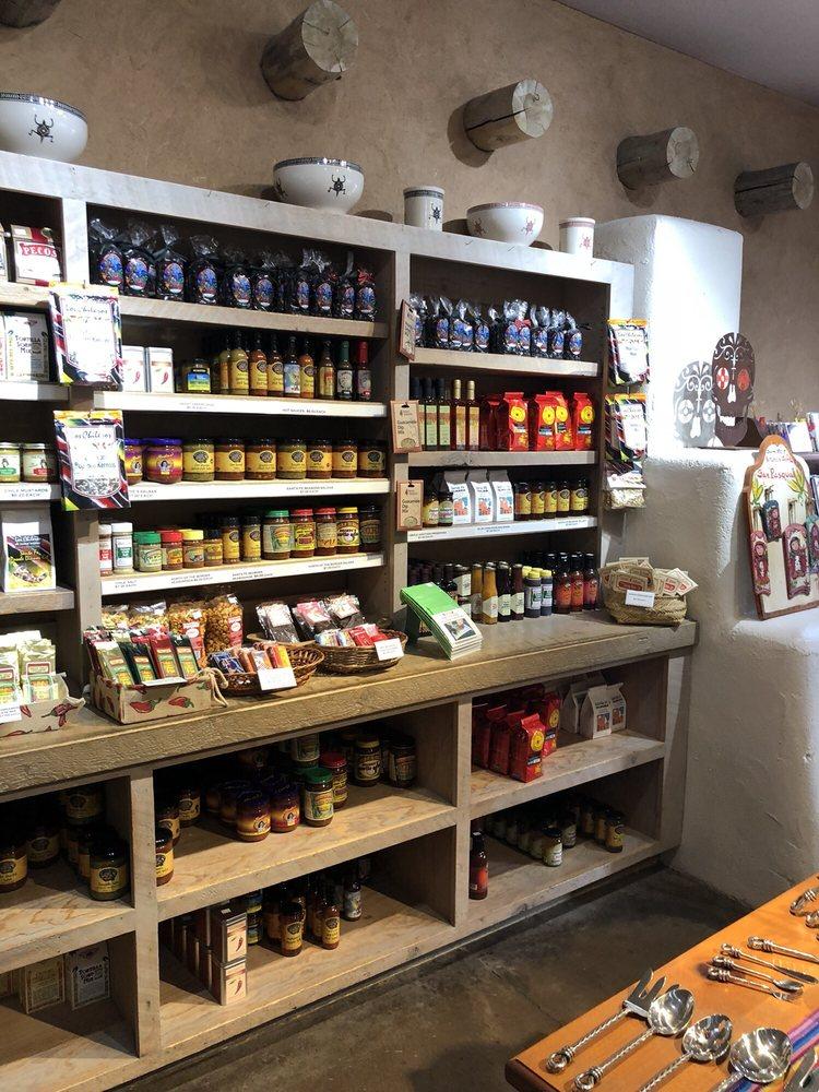 The Chile Shop: 109 E Water St, Santa Fe, NM