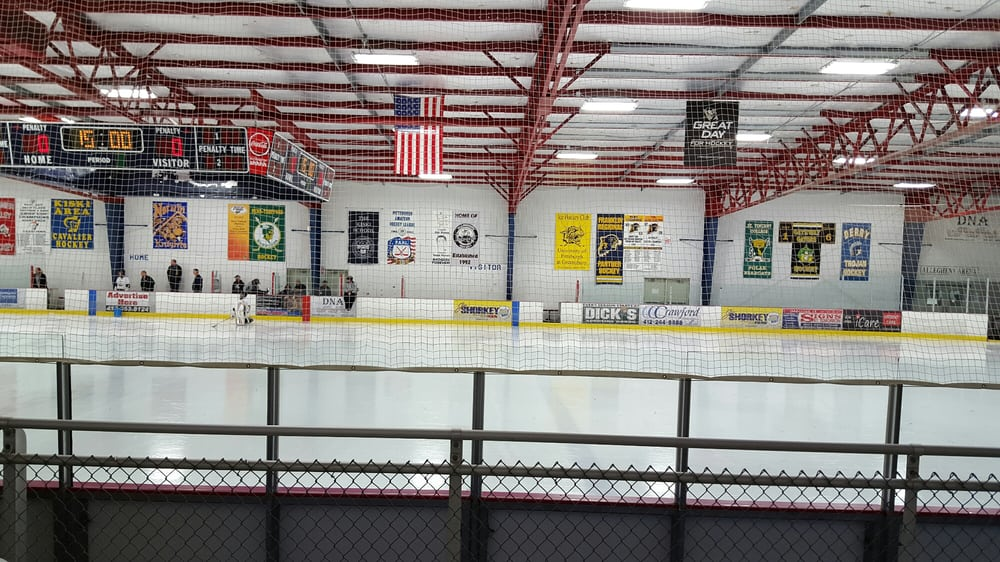 Center Ice Arena: 100 Center Ice Dr, Delmont, PA