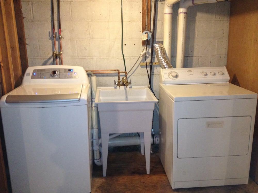 Laundry Room In Basement Plumbing Setup Yelp