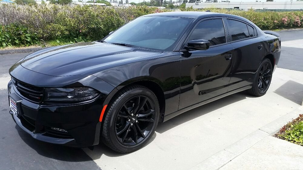 This Black Beauty Dodge Charger Got A Nice Touch Of Our 3m