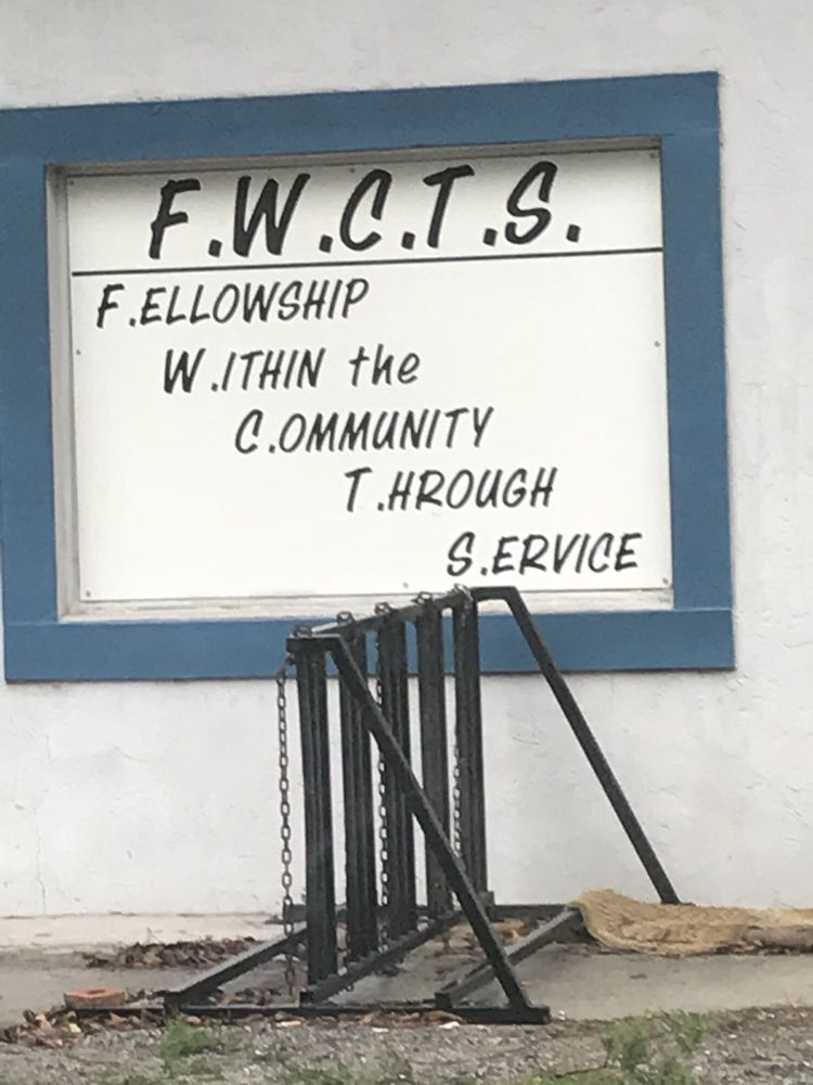 Community Thrift Shop Outreach: Coulter St, Fort White, FL