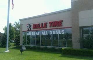 Belle Tire 4049 Jackson Rd Ann Arbor Mi Tire Dealers Mapquest