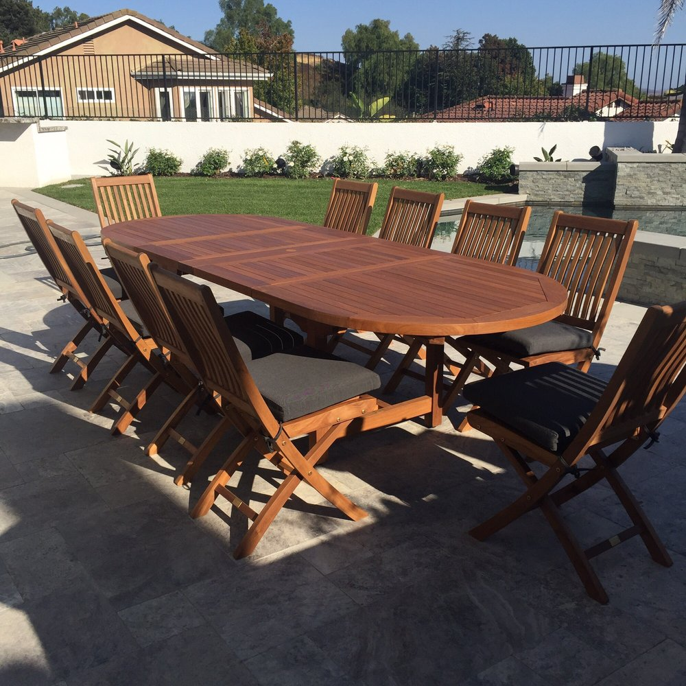 Photo of teakman fountain valley ca united states beautiful table and construction