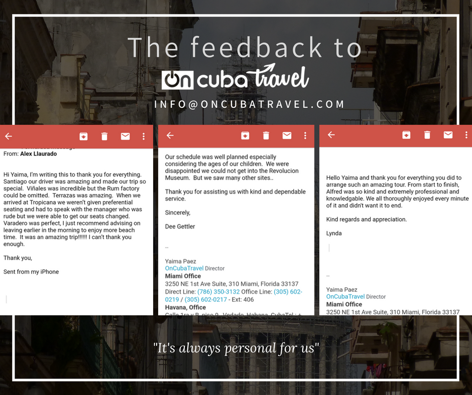 OnCuba Travel: 3250 NE 1st Ave, Miami, FL