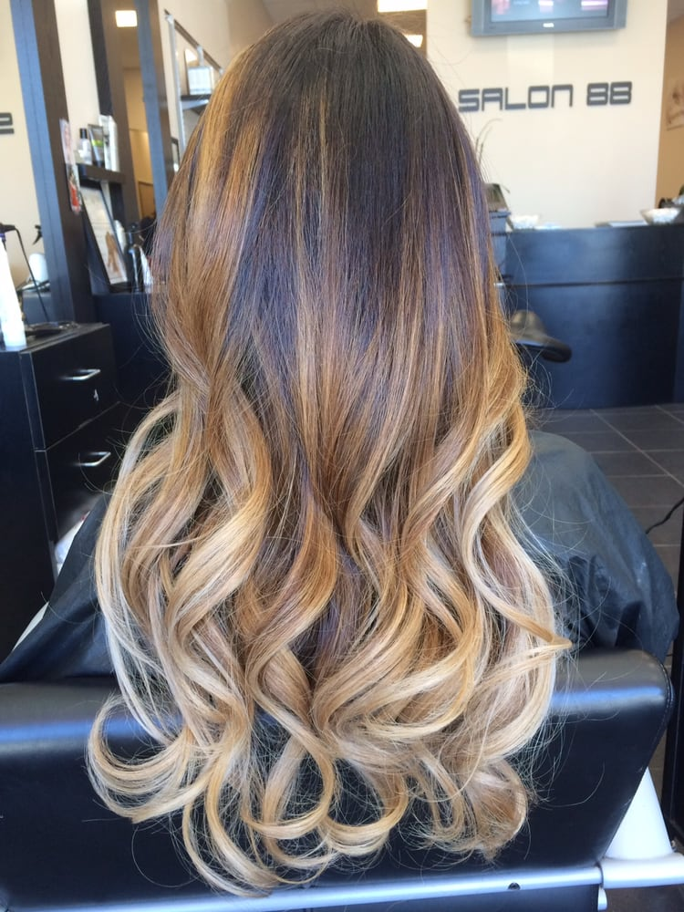 Balayage ombre by Lily! - Yelp
