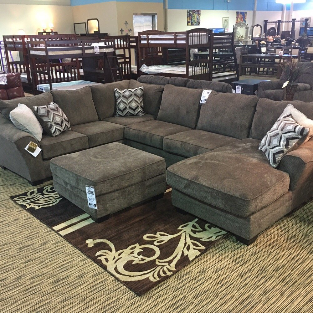 Ashley Furniture Store San Antonio: Ashley Sectional For Only $1299.