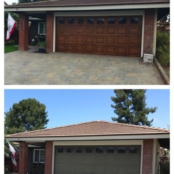 Photo Of Faux Painted Garage Doors   Carlsbad, CA, United States