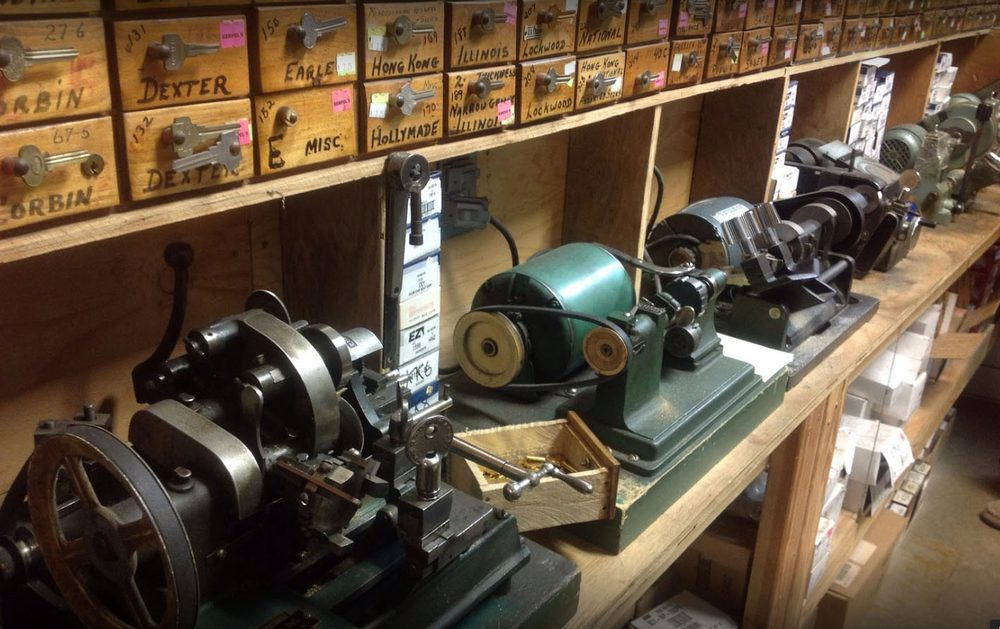 Hampel's Safe & Lock Shop: 104 Mackey Dr, Traverse City, MI