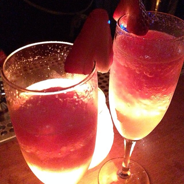 The No. 2 signature drink. Tequila infused strawberry ...