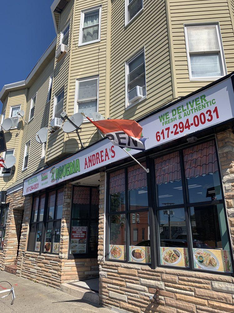 Andrea's Taqueria: 293 Main St, Everett, MA