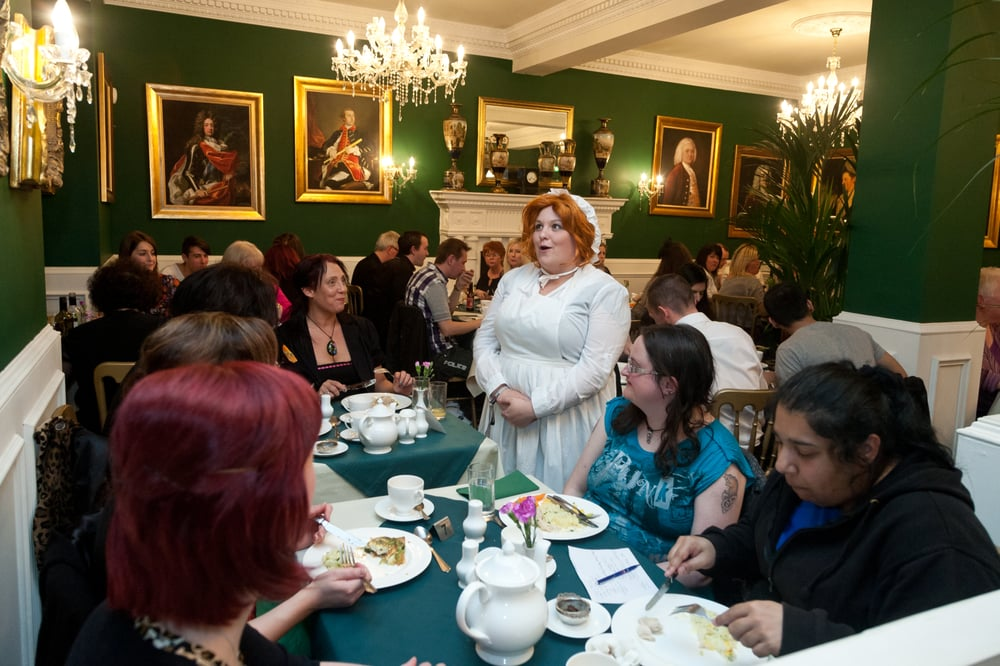 Tea Room Glassford Street Glasgow