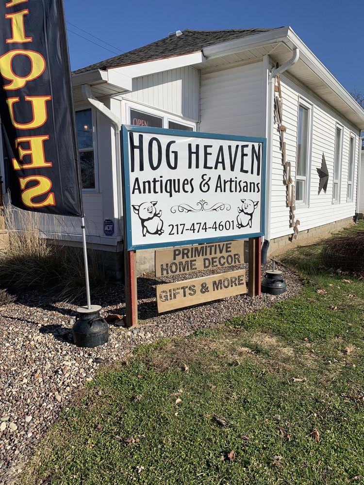 hog heaven: 100 W York St, Rockville, IN
