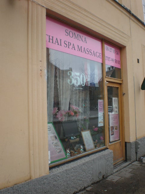 thaimassage oslo massage i solna