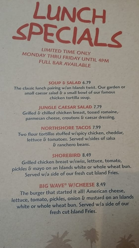 Photo Of Islands Restaurant Riverside Ca United States Lunch Specials Not Bad