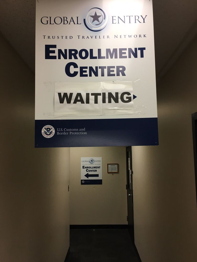 Global Entry Enrollment Center: 612 Hangar Ln, Nashville, TN