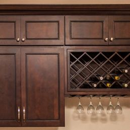 Photo Of American Cabinet Depot   Ontario, CA, United States.  Chocolate_Mahogany Kitchen Cabinets