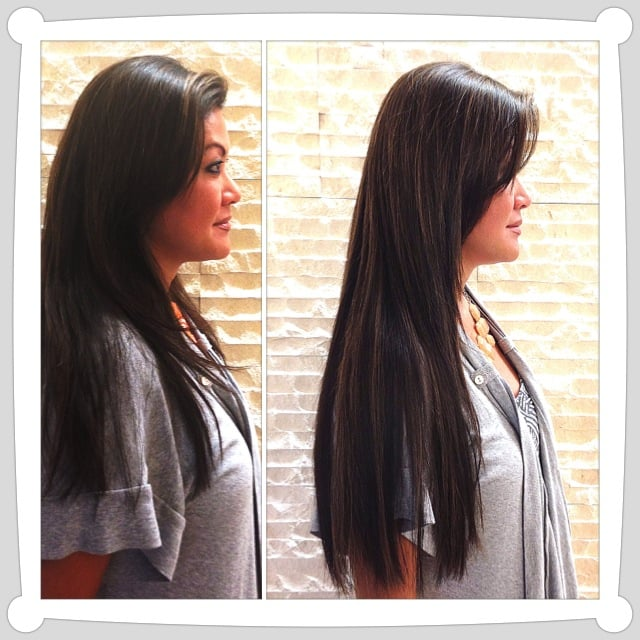 Before And After Great Lengths Hair Extensions Yelp