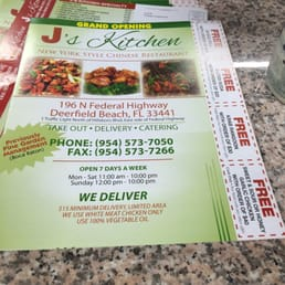 J s kitchen 25 avalia es chin s 196 n federal hwy for J kitchen deerfield beach