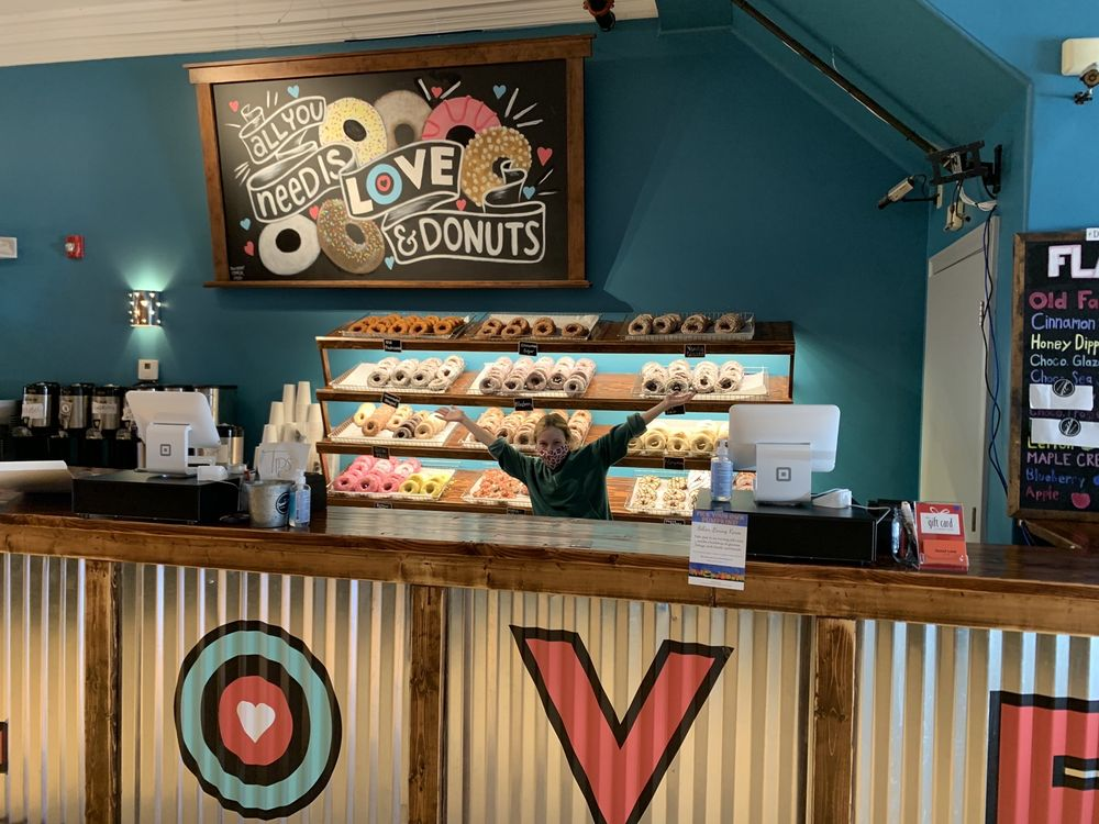 Donut Love: 113 Water St, Exeter, NH