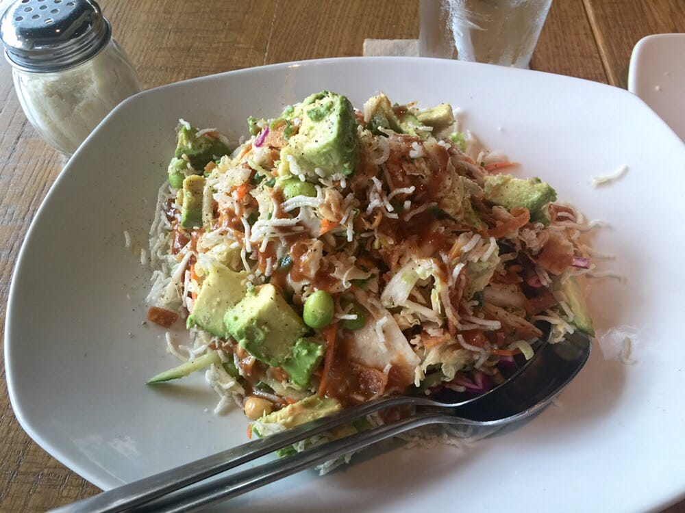 Thai Crunch Salad With Avocado Yelp