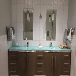 Custom Bathroom Vanities Nj king's tile - 248 photos - flooring - 400 st andrew's pl