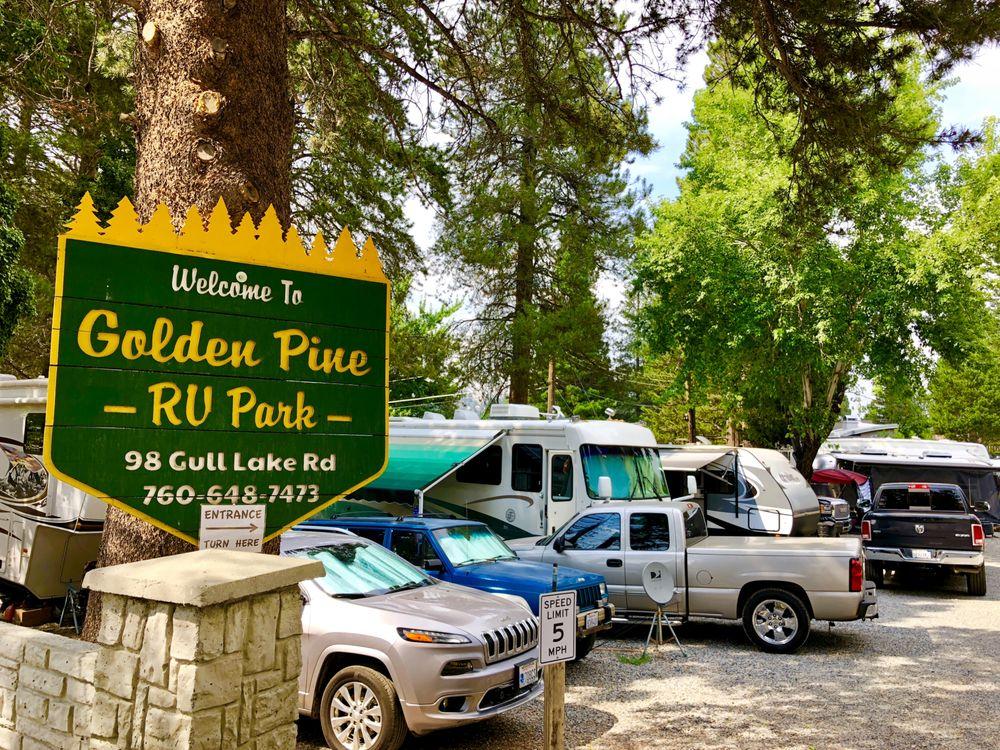 Golden Pine Rv Park: 98 Gull Lake Rd, June Lake, CA