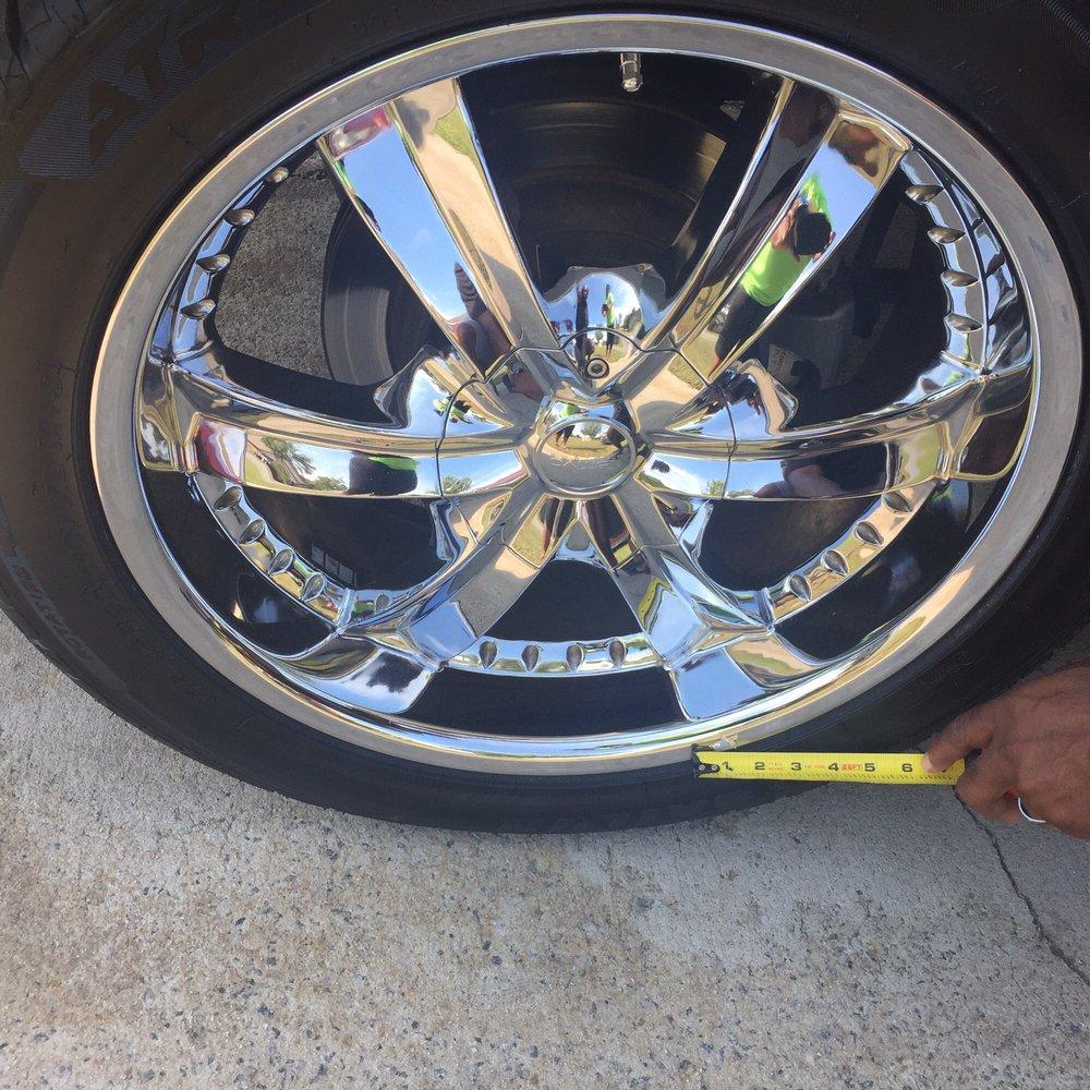 Damage To Chrome Rim Yelp