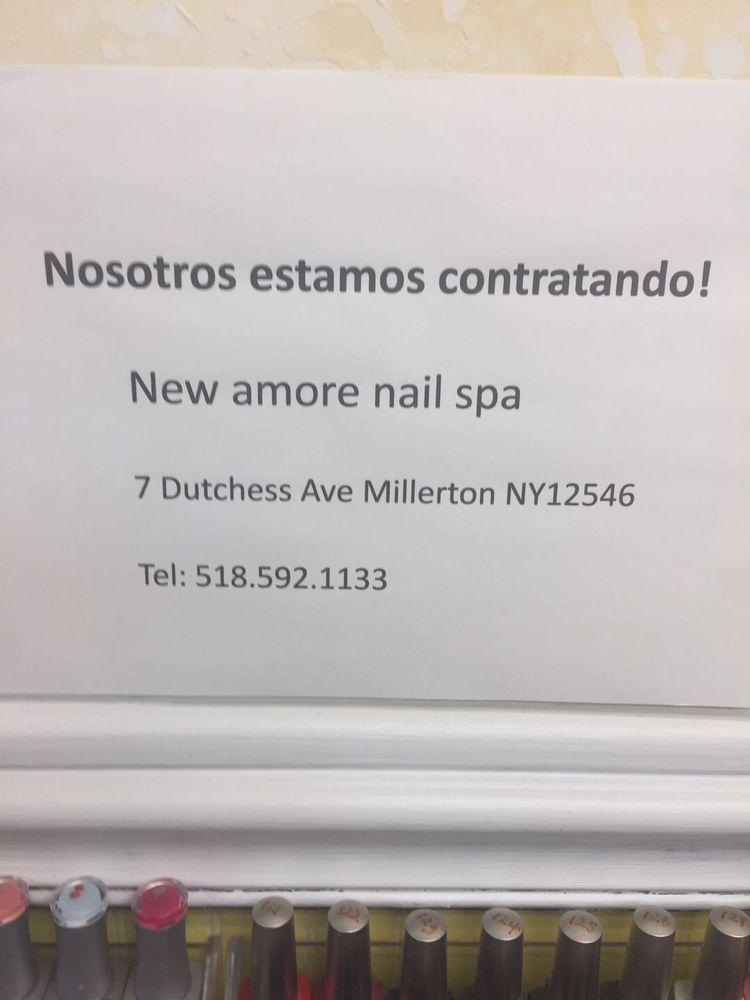 Amore Nail Spa: 7 Dutchess Ave, Millerton, NY