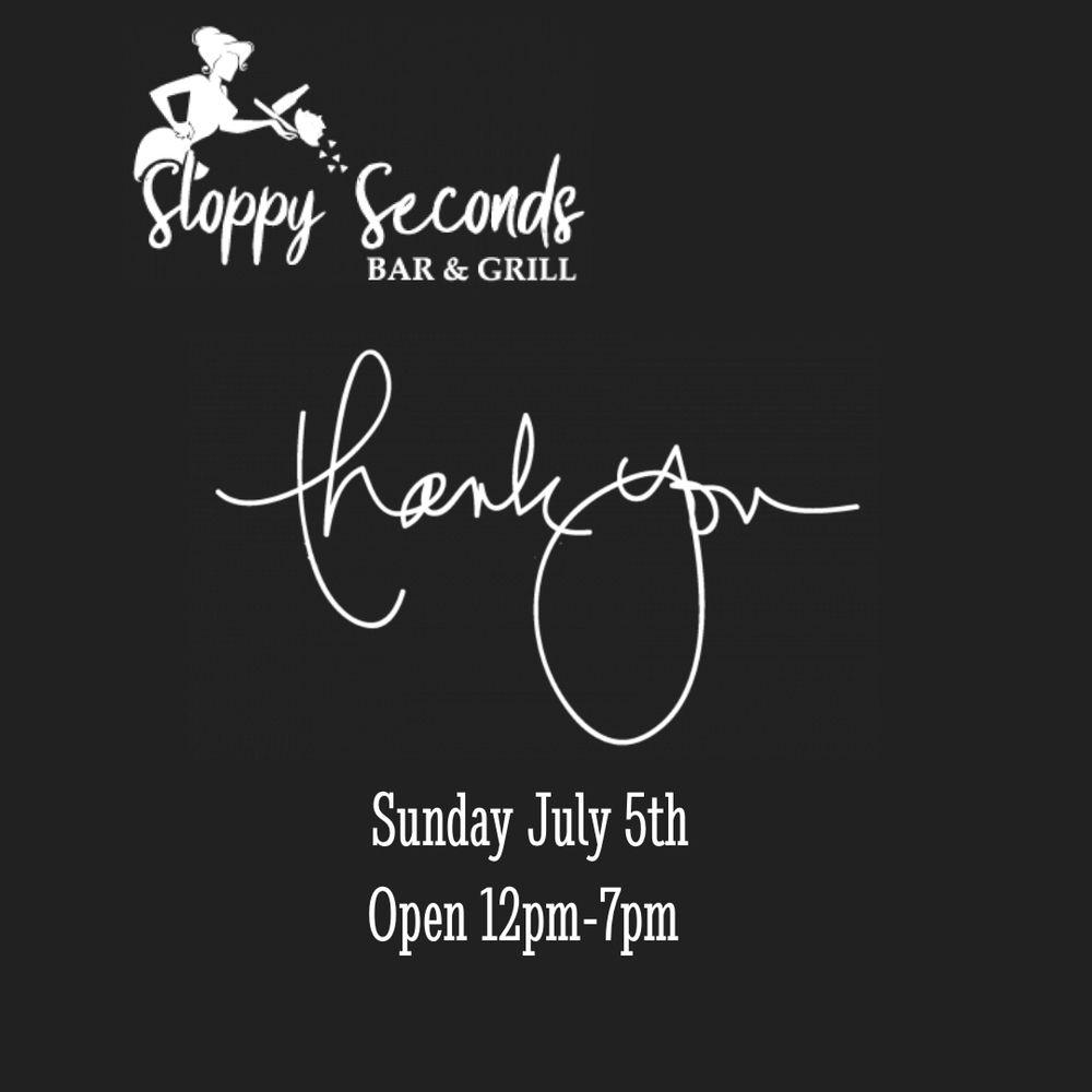 Sloppy Seconds Bar & Grill: 4356 Holland Rd, Virginia Beach, VA