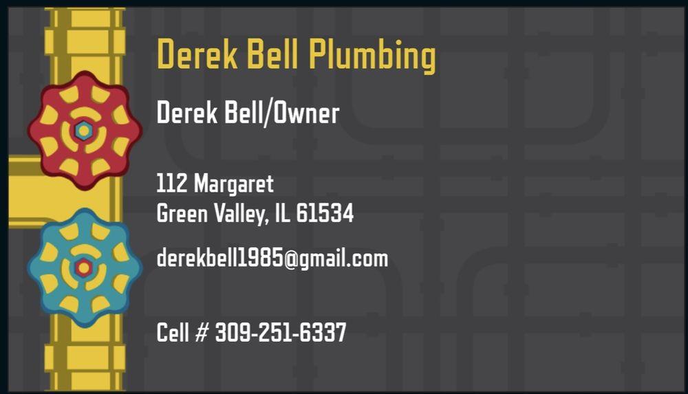 Derek Bell Plumbing: 112 Margaret St, Green Valley, IL