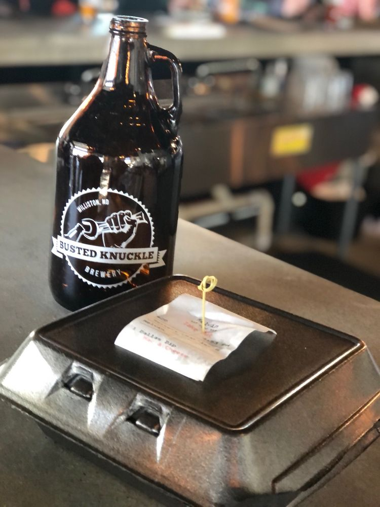 Busted Knuckle Brewery Williston: 213 11th St W, Williston, ND