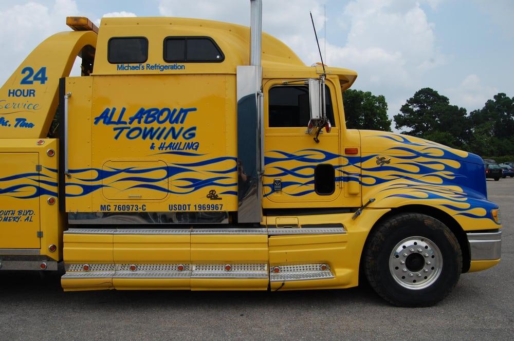 Towing business in Alexander City, AL