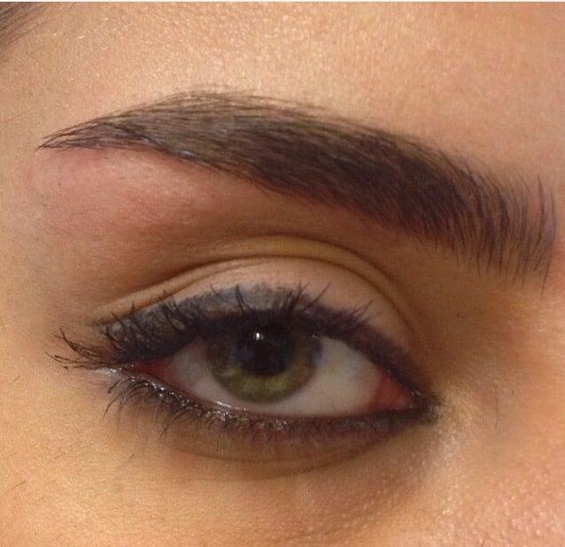 Eyebrow Threading Persian Style Natural And Healthy Brows No Wax