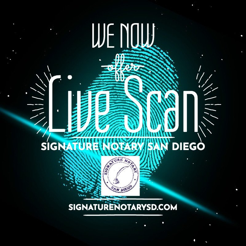 Signature Notary San Diego
